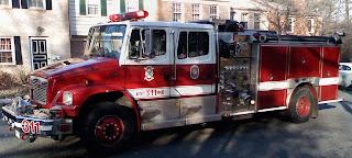 little fire truck