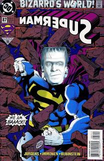 herman munster bizzaro superman costume