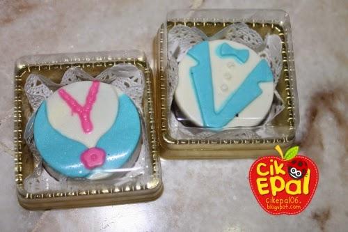 Cik epal door gift idea untuk wedding for Idea door gift untuk vip