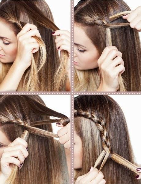 Seis ideas de peinados muy fáciles para el