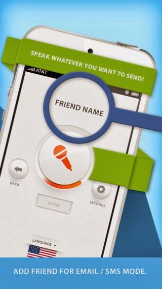 تطبيق مجاني للأيفون والايباد لتحويل الكلام الصوتي الي نصوص بالانجليزية Voice Assistant™ iOS-IPA 1.0