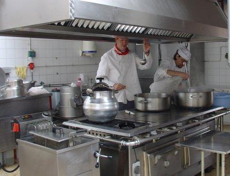 Equipamiento hosteler a equipamiento necesario para un Cocinas para restaurantes