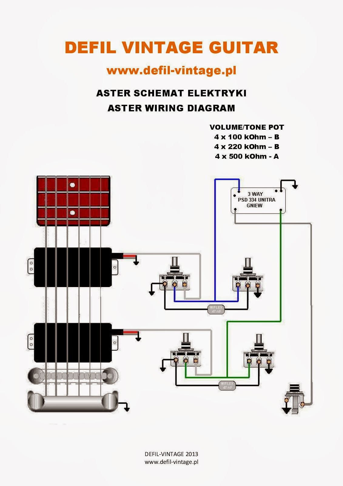 WIRING DIAGRAM DEFIL