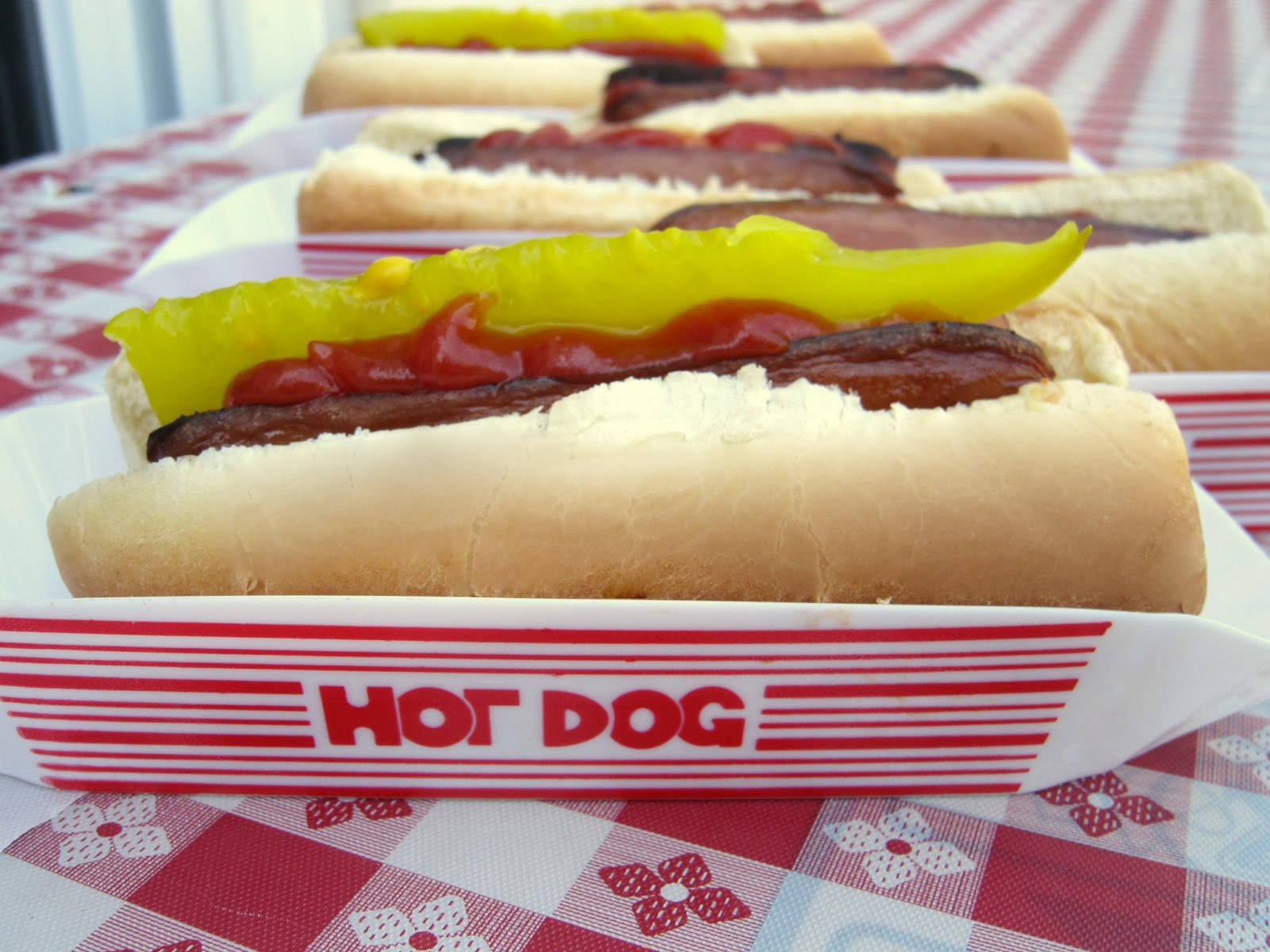 Baseball Birthday Party Food Hot Dog Bar