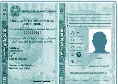 Permissão Internacional para Dirigir (PID)