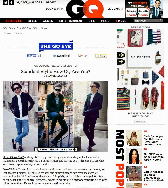 GQ US : How GQ Are You?