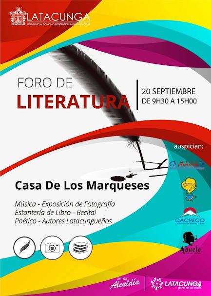FORO DE LITERATURA
