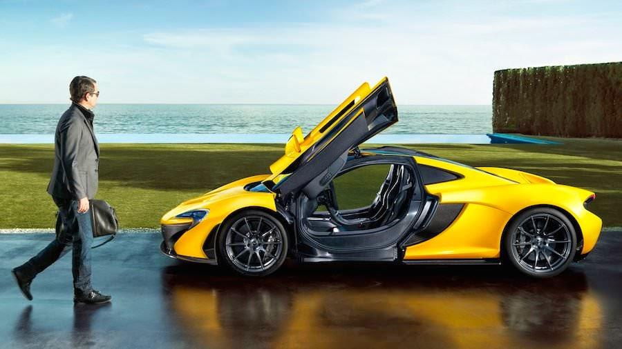 世界一高い価格の高級車 マクラーレンP1