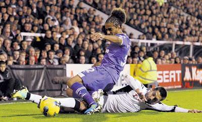 Fulham 1 - 3 Tottenham Hotspurs (2)
