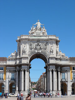 Praca do Comercio, Lisbon Portugal