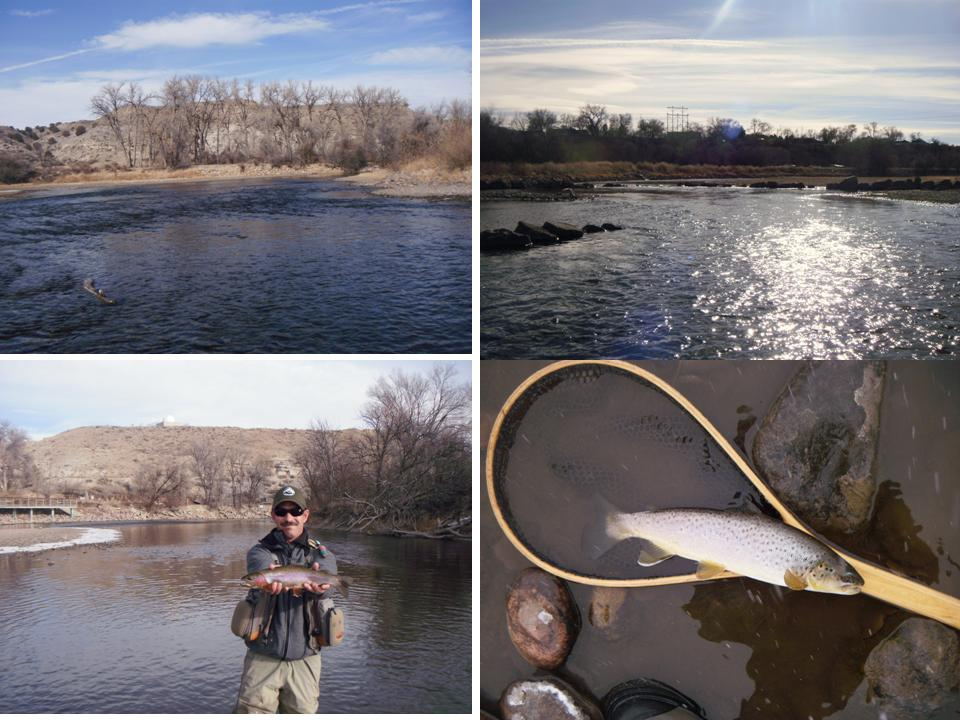 Arkansas river tailwater fly fishing report for Pueblo reservoir fishing report