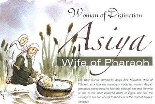 Kisah Teladan Asiyah Binti Muzahim