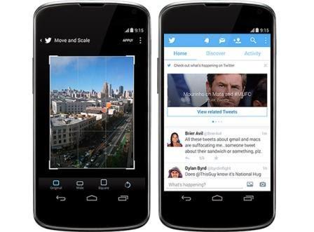 Twitter gulirkan update baru untuk Android