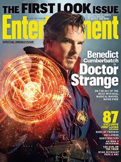 First look of Benedict Cumberbatch as Doctor Strange on Entertainment Weekly cover
