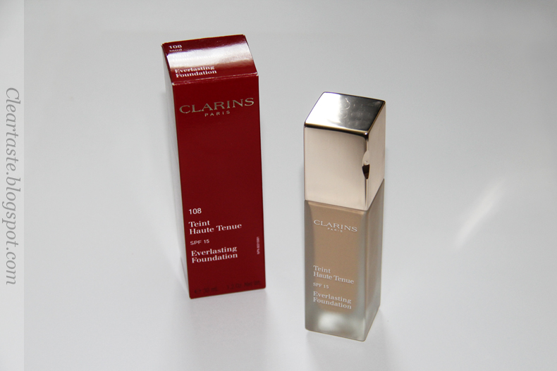 Clarins everlasting foundation sand