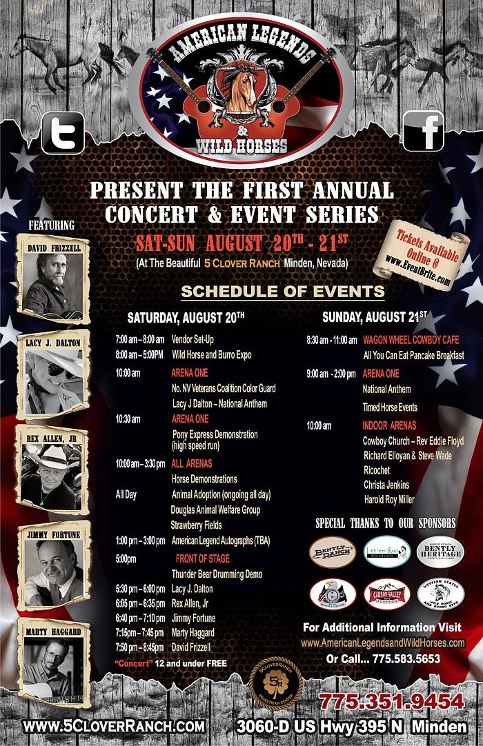 AMERICAN LEGENDS Concert