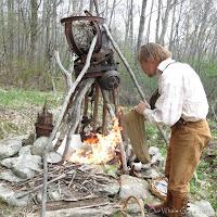 Beltane final sacrifice flames reaching to the omens