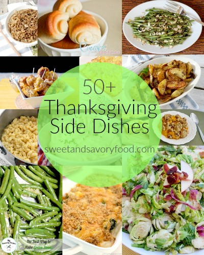 50+ thanksgiving side dishes (sweetandsavoryfood.com)