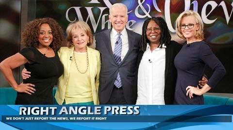Joe Biden On The View With Sherri Shepard, Whoopi Goldberg, Jenny McCarthy And Barbara Walters