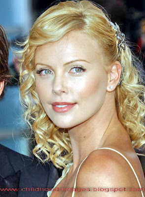charlize theron mini biography and rare childhood pictures