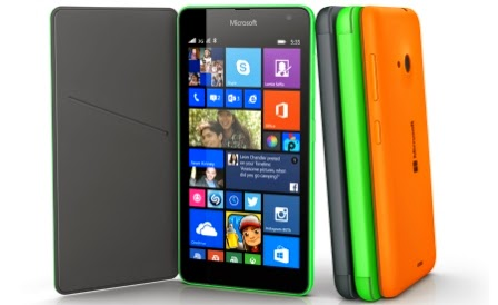 Microsoft officially introduced the Lumia 535, the price is € 110