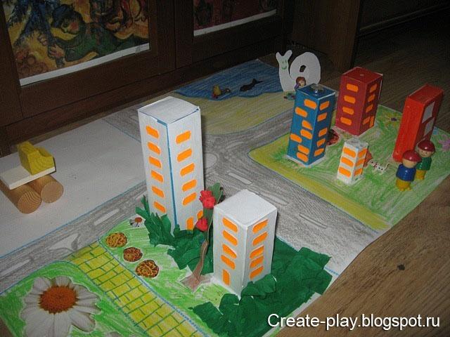 Город из картона