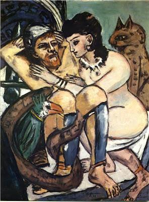 Max Beckmann - Odysseus and Calypso ,1943