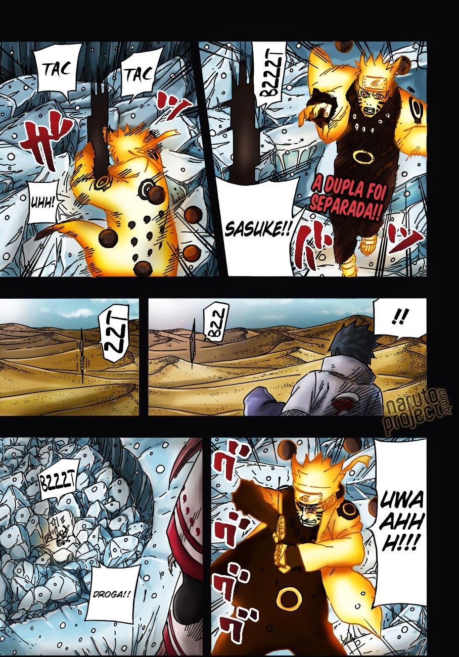 Naruto Colorido ~ Rikudou News Naruto Shippuden Mangá 683 Colorido