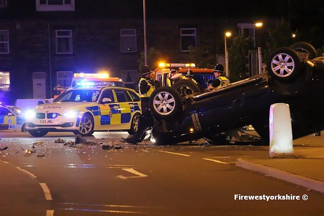 2 vehicle rtc manchester Road Bradford