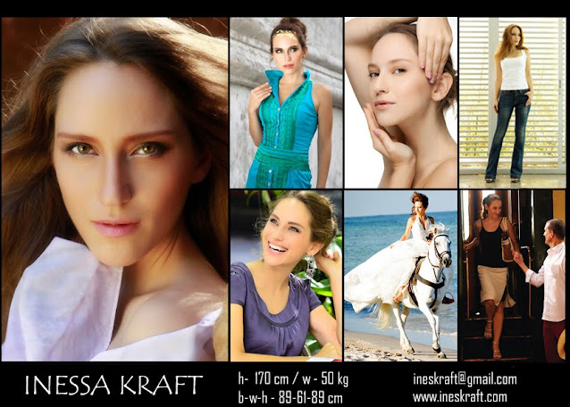 Inessa Kraft, modeling, model, acting, actress, sustainable, fitness