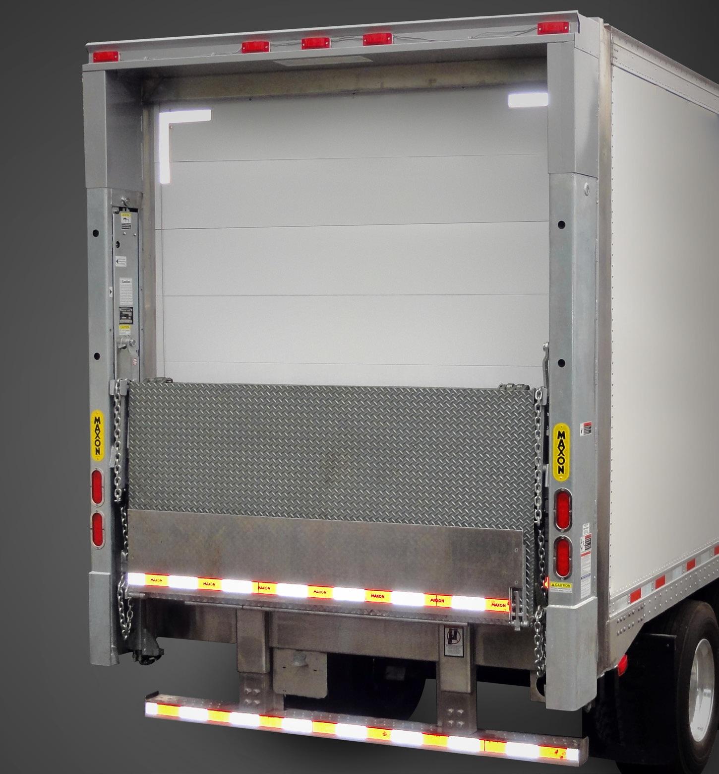 Industrial Lift Gate : Commercial truck success maxon galvanized liftgates