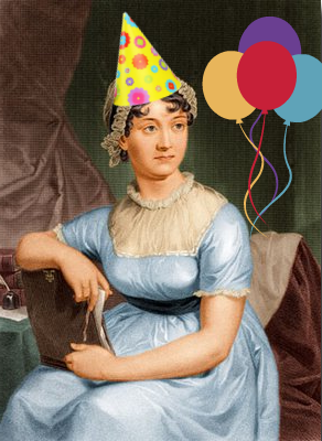 Jane Austen's birthday - party Jane!