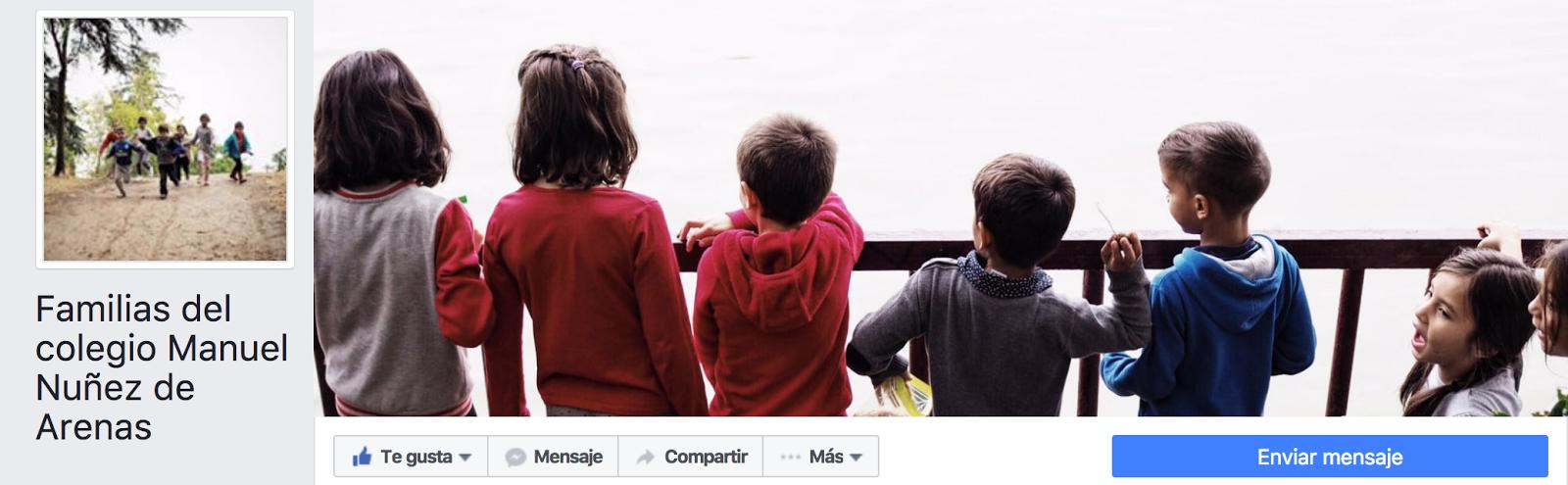 facebook de familias