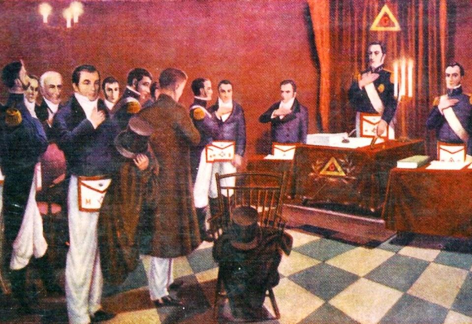 El extraño caso de la Logia Lautaro y el señor San Martín