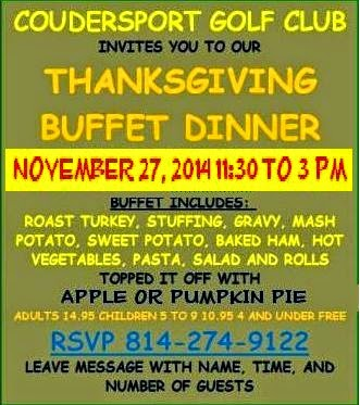 11-27 Call For Thanksgiving Reservations