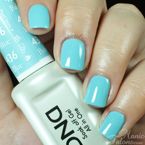 Daisy Duo Baby Blue Swatch