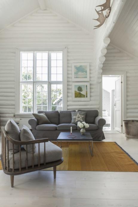 cabaña estilo escandinavo