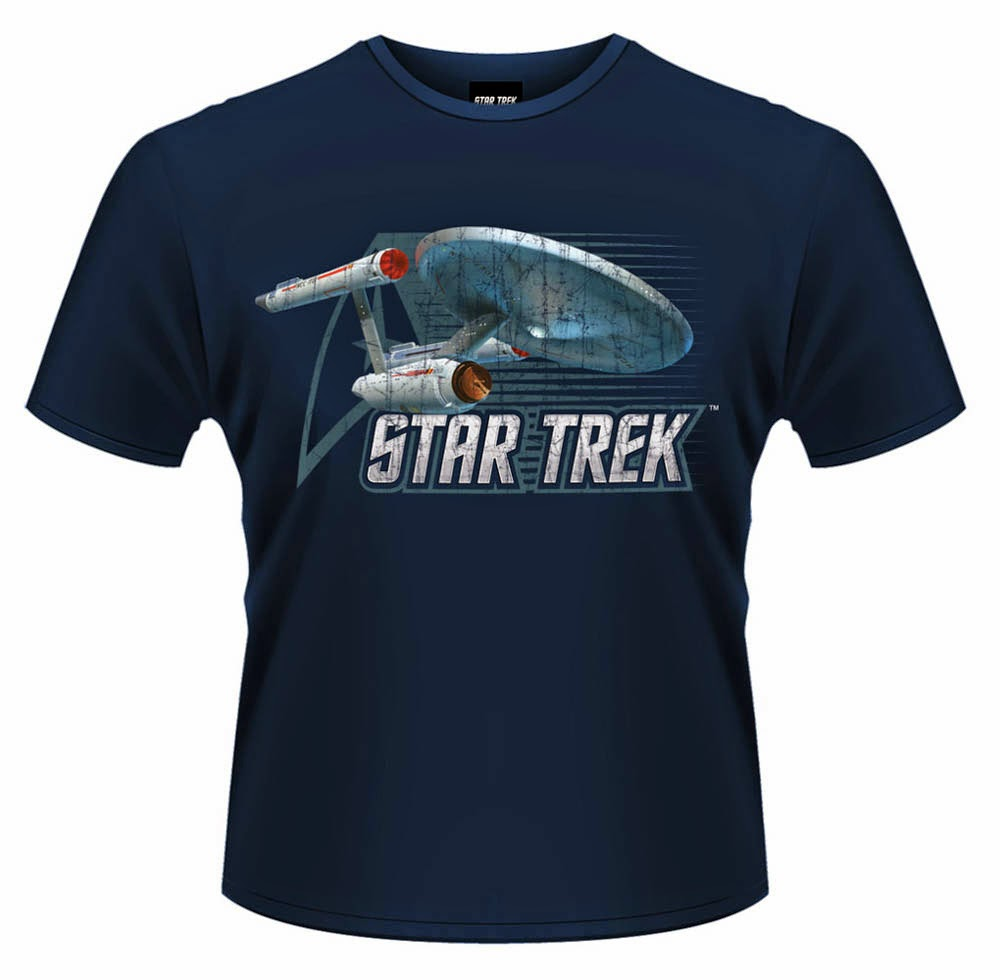 Camiseta Star Trek Nave Enterprise