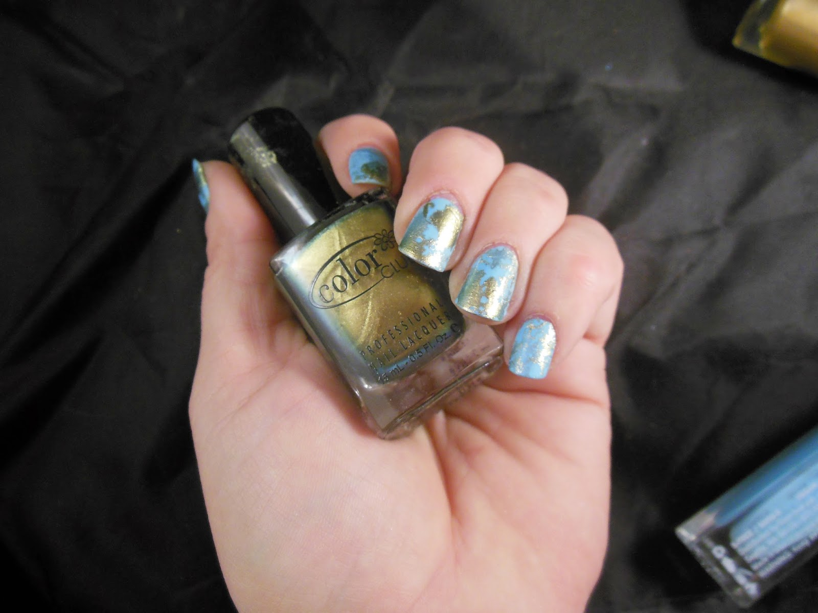 Nails: NOTW World Map Nails!