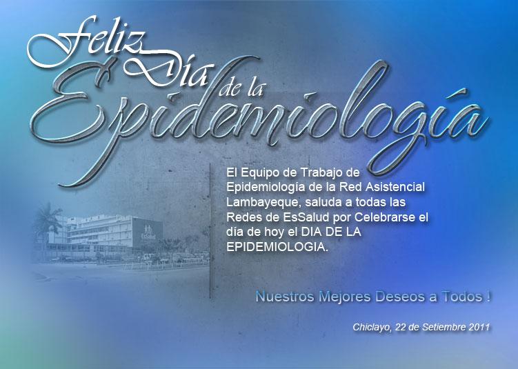 Epi y Mas: Un día para la epidemiología