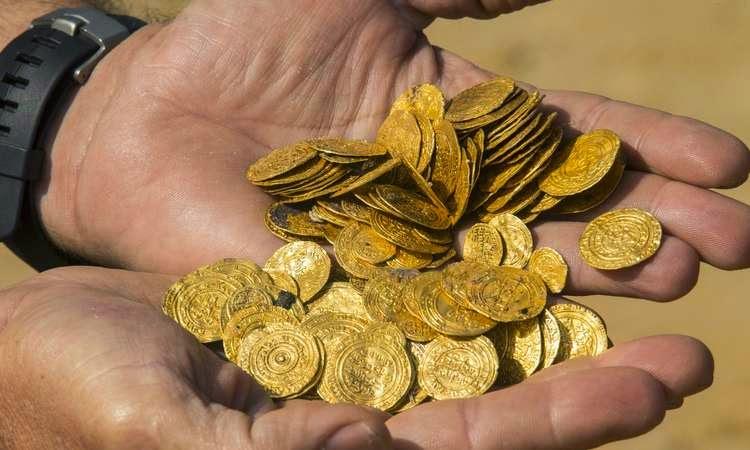 Israel descobre grande quantidade de moedas de ouro medievais
