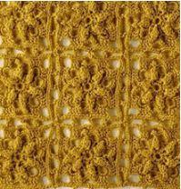 Motivo Crochet continuo