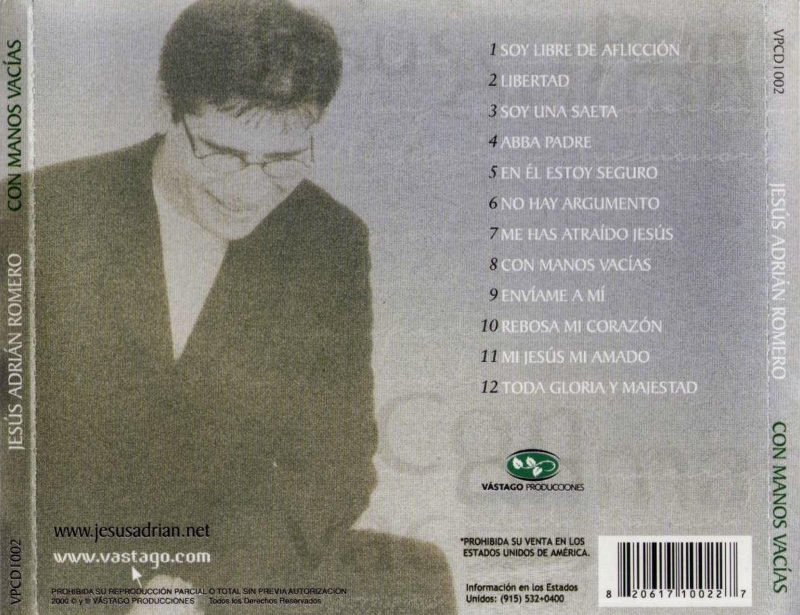 Jesús Adrián Romero – Rebosa Mi Corazón Lyrics - Genius