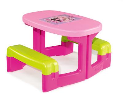JUGUETES - DISNEY Minnie Mouse  Mesa Pic-Nic | Infantil  Producto Oficial | Smoby 310291 | Comprar en Amazon