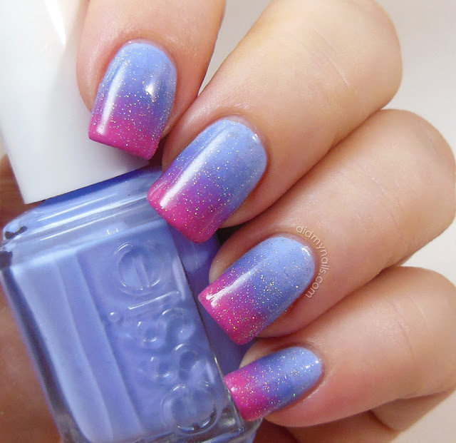Sleeping Beauty gradient nails