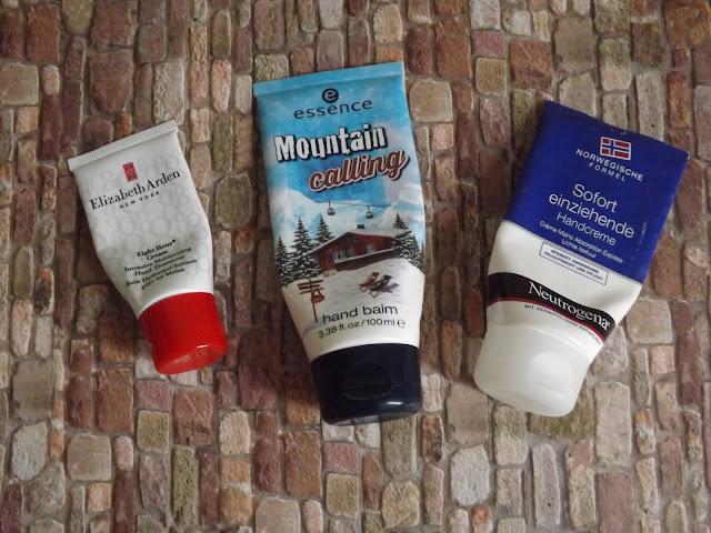 Elizabeth Arden - Eight Hour Cream, essence - Mountain calling hand balm, Neutrogena - Sofort einziehende Handcreme