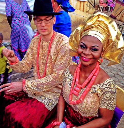 karen igho wedding pictures