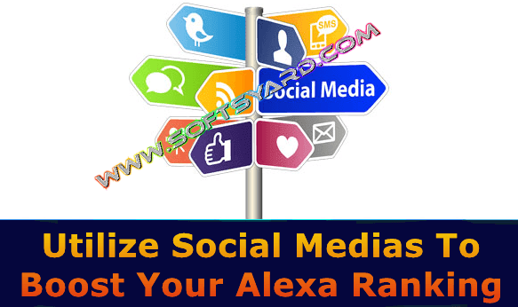 how to increase alexa ranking on my blog using social medias