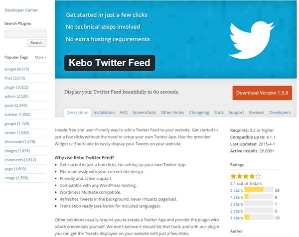 Kebo Twitter Feed