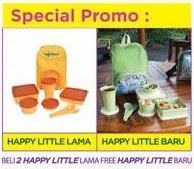 Special Promo Happy Little Tulipware